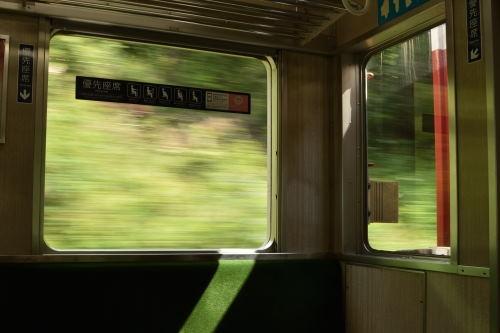 電車の車窓
