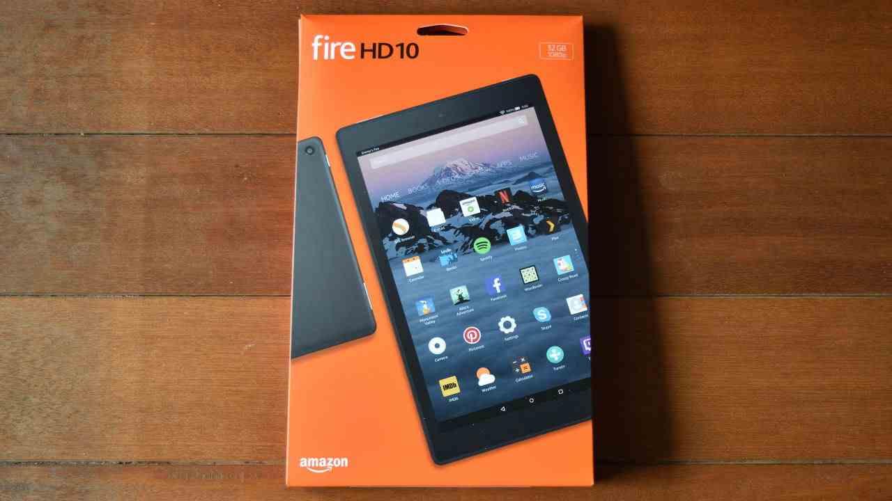 fire HD 10外箱