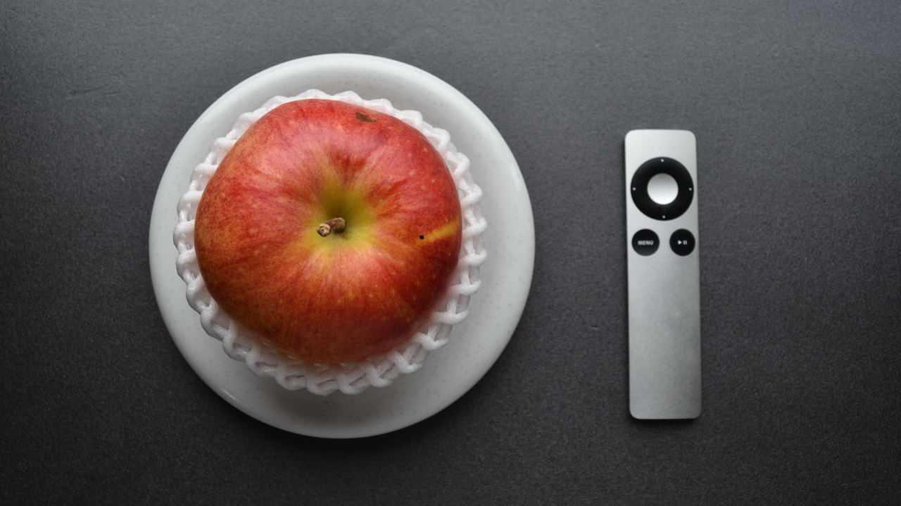 リンゴとリモコン