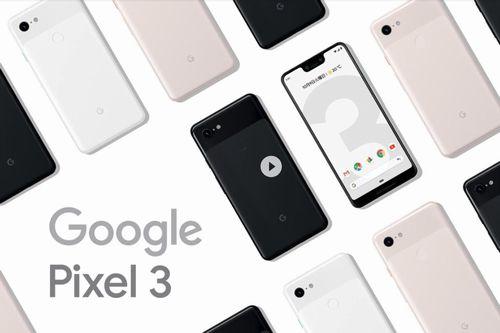 Google pixel3公式ページ
