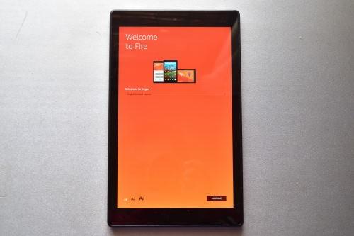 Amazonデバイスの起動画面