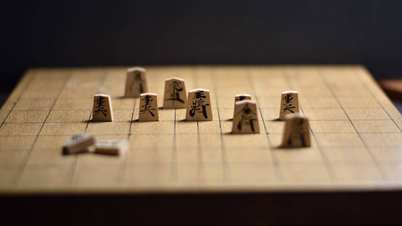 将棋盤と駒