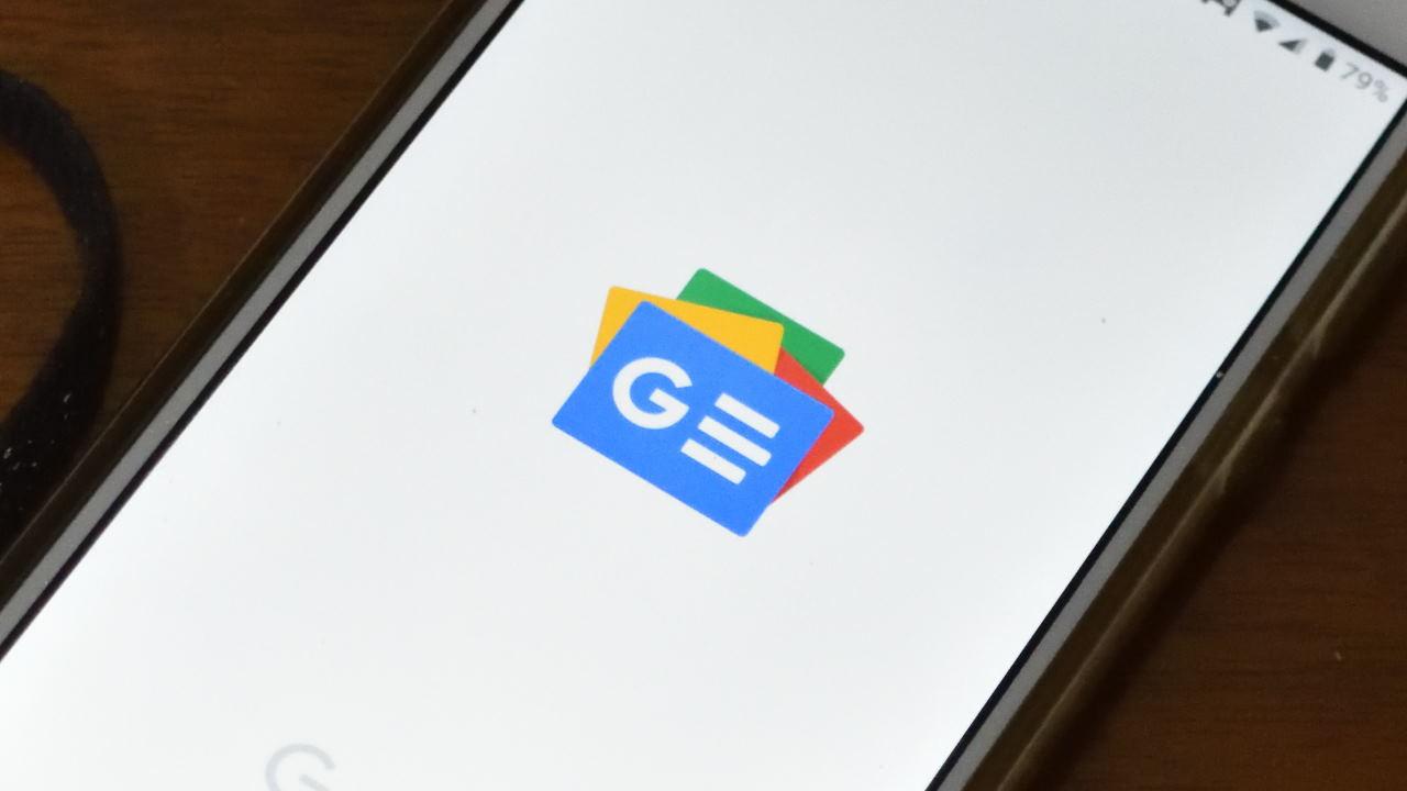 Googleニュース起動画面