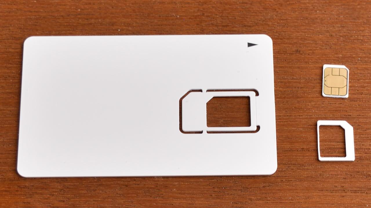 OCN モバイル ONEのSIMカード