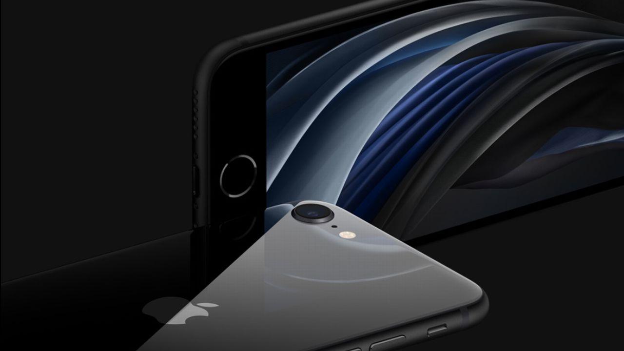 iPhone SE外観