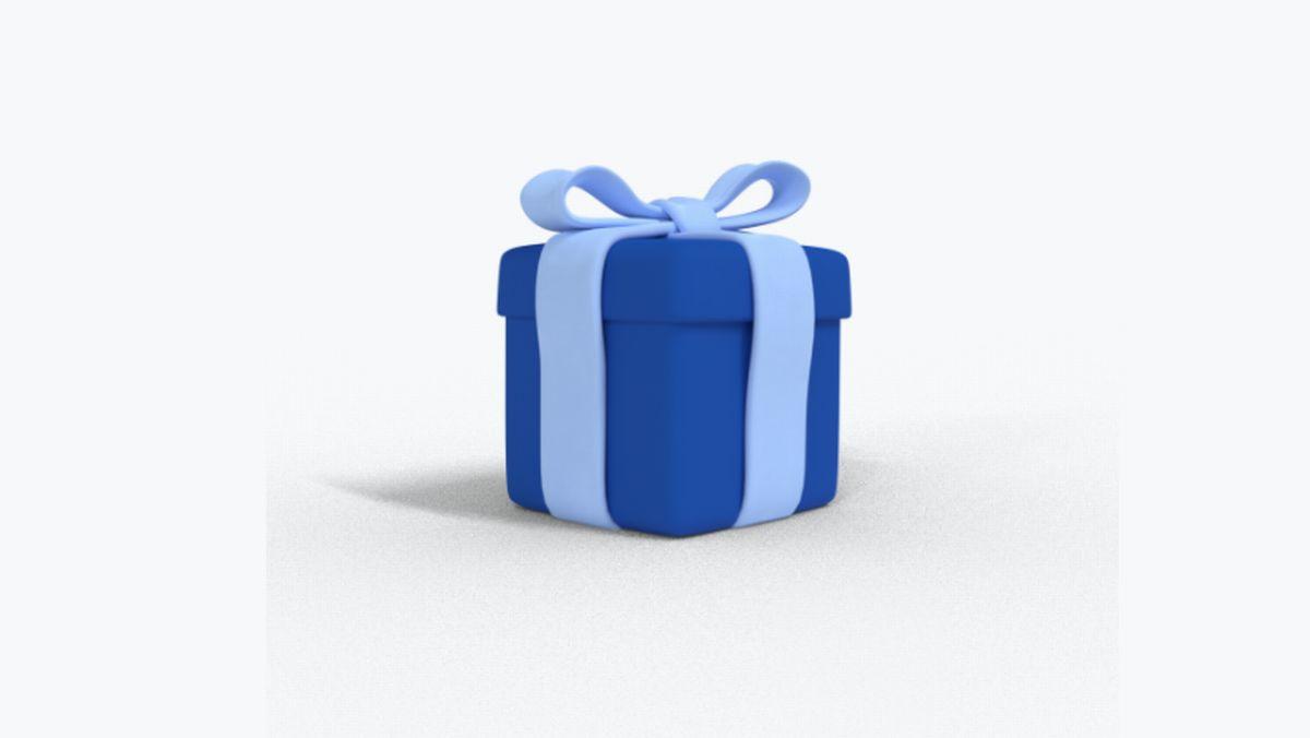 割引コードが貰えるプレゼントボックス