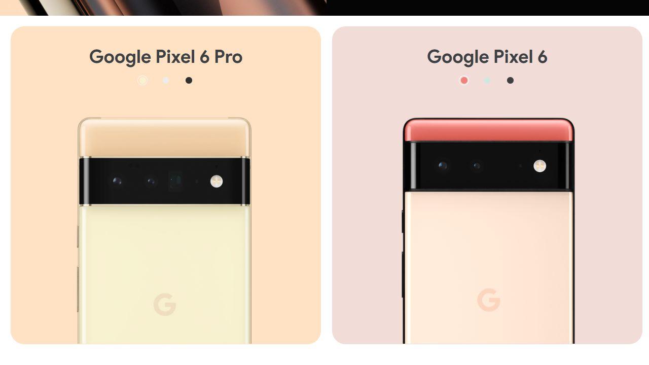 Pixel 6外観